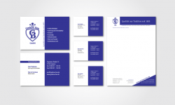 Visitenkarten und Briefbogen für die Gorkow Bau GmbH