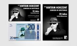 """Flyer & Plakat für """"20 Jahre Krafczyk Männermoden"""""""