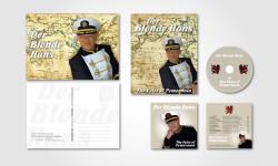 """Autogrammkarte, Plakat und CD + Pappschuber für """"Der Blonde Hans"""""""