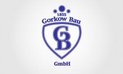 Logo für das traditionsreiche Bauunternehmen Gorkow Bau