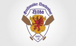 Logo für den Drachenboot Verein Hilda