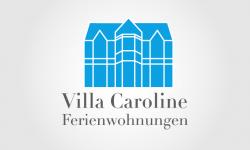 """Logo für das Ferienhaus """"Villa Caroline"""""""